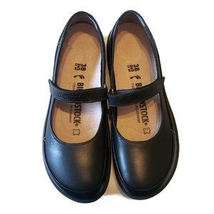 BIRKENSTOCK Iona Mary Janes Size 38 / 7 Black
